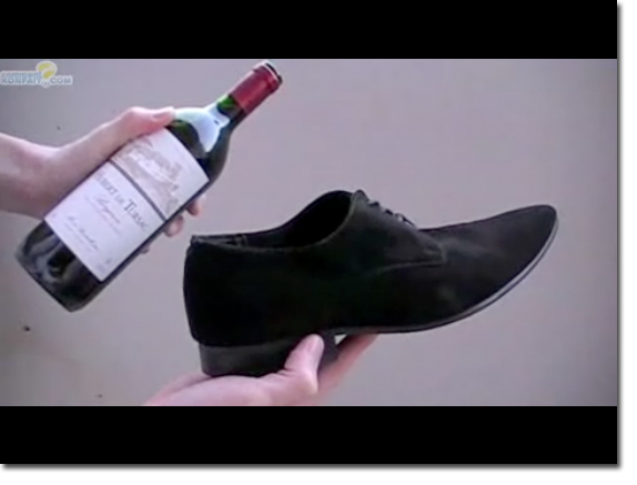 How To Open A Wine Bottle With A Shoe