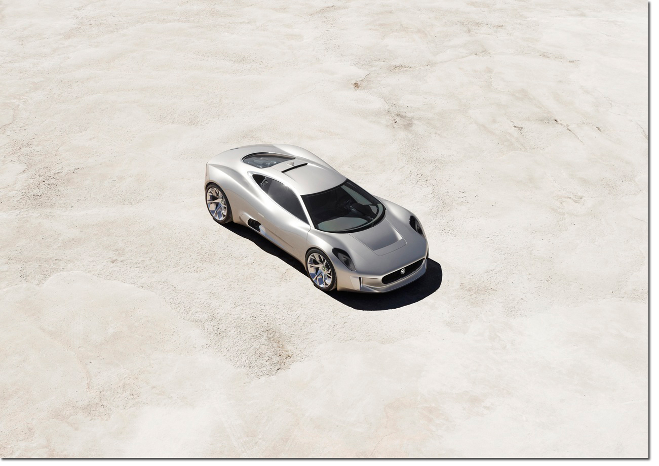 In Celebration Of The Brandu0027s 75th Anniversary, Jaguar Took The Wraps Off  Its C X75 Concept Car At The 2010 Paris Motor Show.
