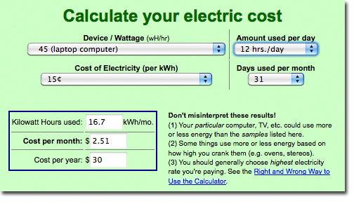 ENERGY_COST_CALCULATOR