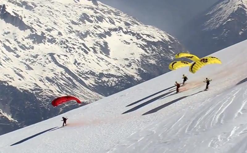 Speed Riding Mont Blanc