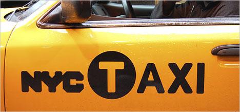 NYC yellow cab logo